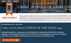 website for Louise Penny's Chief Inspector Gamache Re-Read