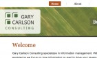 website for Gary Carlson Consulting