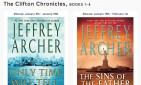 website for The Clifton Chronicles Binge Read