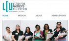 website for LCU Fund for Women's Education