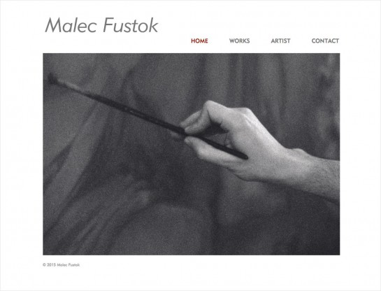 web design & development for Malec Fustok