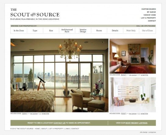 web design & development for The Scout Source